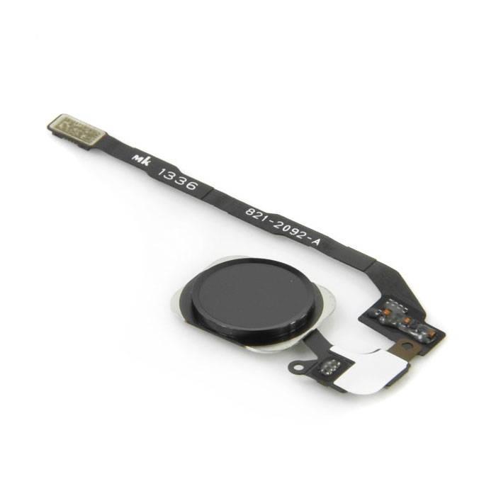 Stuff Certified Voor Apple iPhone 5C - A+ Home Button Assembly met Flex Cable Zwart