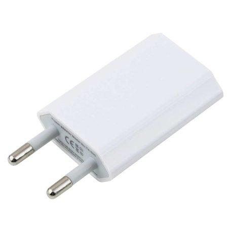 Stuff Certified 2 in 1 Oplaadset Oplaadkabel/Datakabel & Stekkerlader/Wallcharger 1 Meter iPhone 4/4S