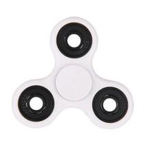 Standard Tri Fidget Hand Spinner Anti Stress Draaier Toy Wit