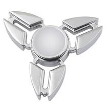 Falcon Tri Fidget Hand Spinner Anti Stress Draaier Toy Zilver