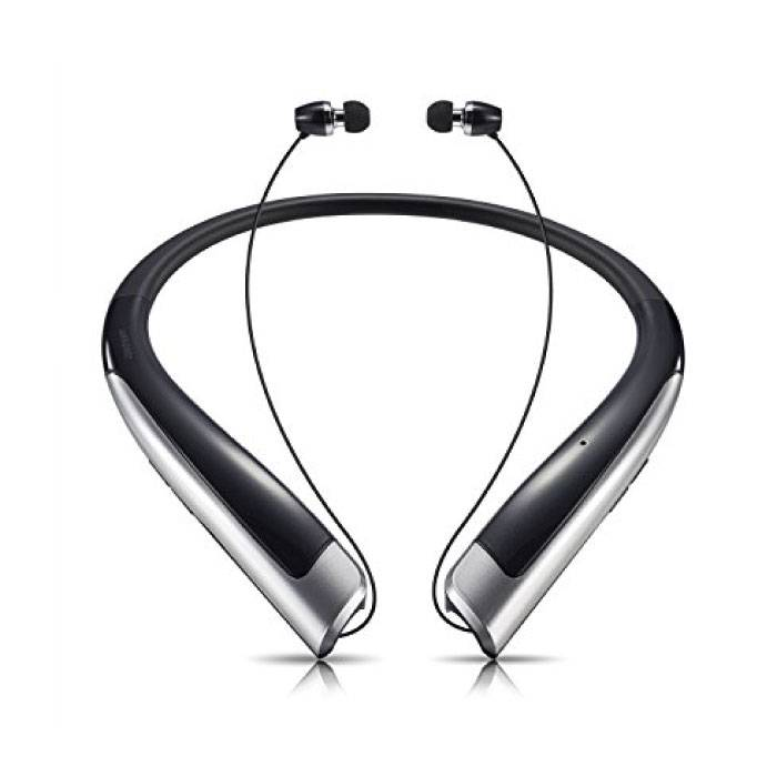 iOS/Android Earphones Oortjes Ecouteur met Nekband Zwart - Clear Sound