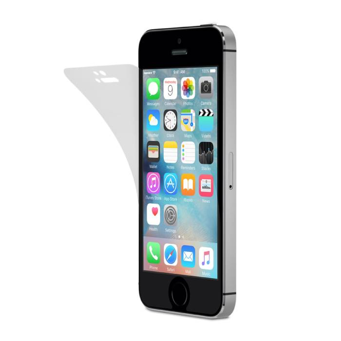 Screen Protector iPhone 5 Sterke Foil Folie PET Film
