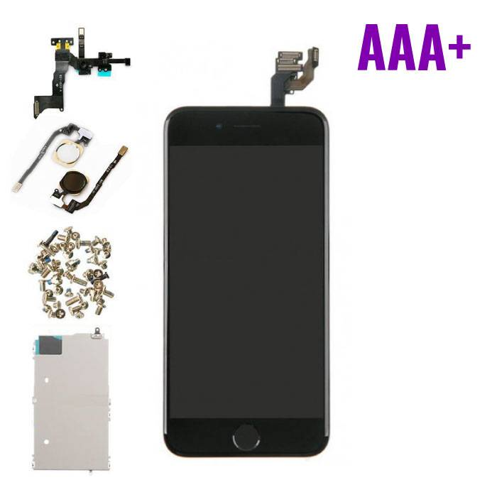 """iPhone 6 4.7 """"Front Mounted Display (LCD + Touchscreen) AAA+ Quality - Black"""