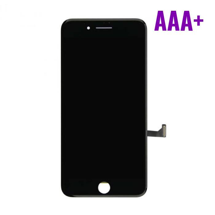 iPhone 7 Plus screen (Touchscreen + LCD + Onderdelen) AAA+ Quality - Black