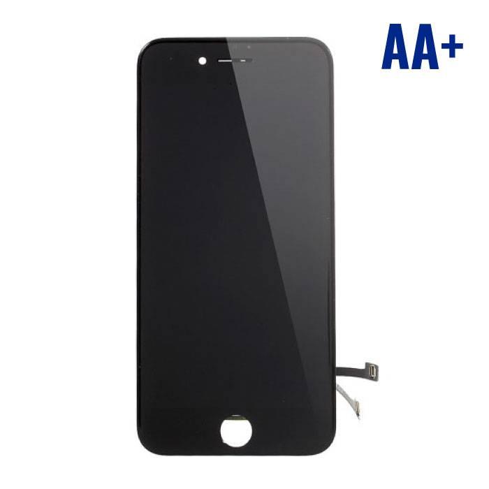 7 iPhone screen (Touchscreen + LCD + Onderdelen) AA + Quality - Black
