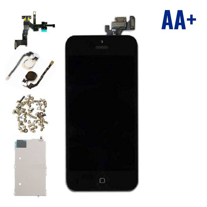 iPhone 5 Pre-mounted display (LCD Touchscreen +) AA+ Quality - Black