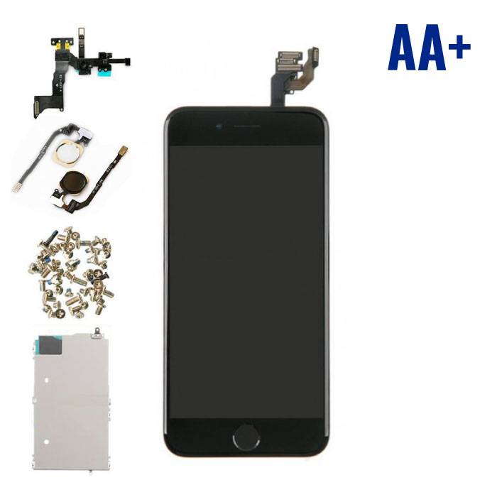"iPhone 6 4.7 ""Front Mounted Display (LCD + Touch Screen + Parts) AA + Quality - Black"