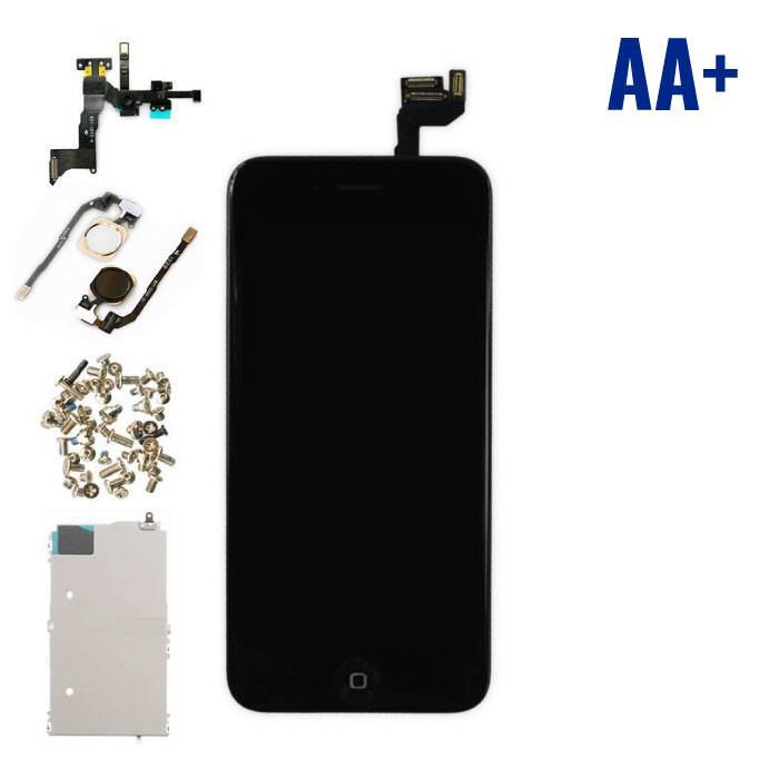 """iPhone 6S 4.7 """"Front Mounted Display (LCD + Touch Screen + Parts) AA + Quality - Black"""