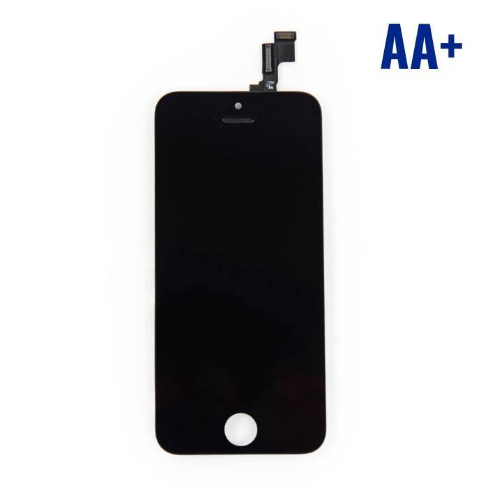 iPhone SE/5S Scherm (Touchscreen + LCD) AA+ Kwaliteit - Zwart