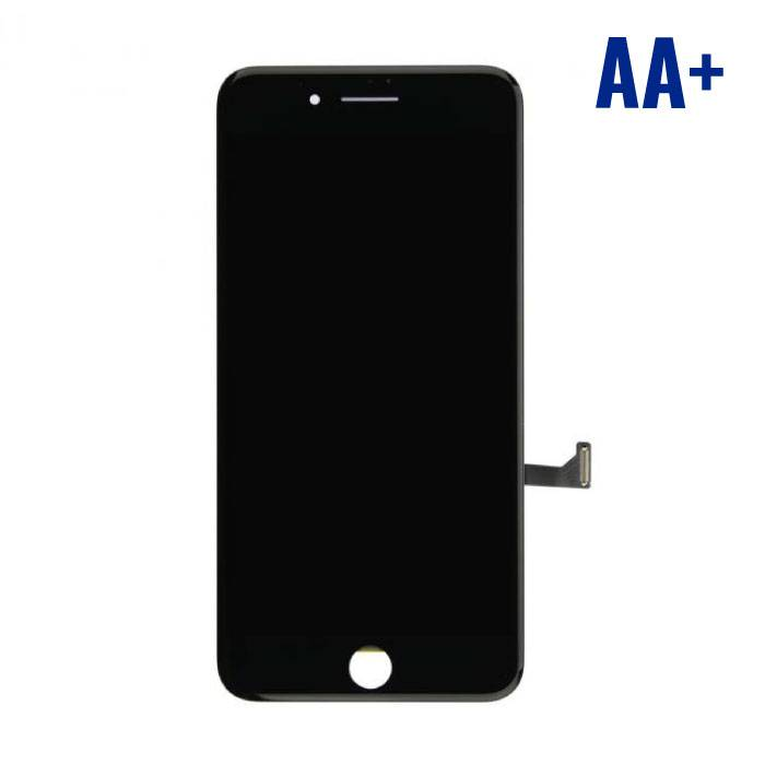 iPhone 7 Plus screen (Touchscreen + LCD + Onderdelen) AA+ Quality - Black
