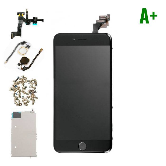 iPhone 6S Plus Pre-mounted screen (Touchscreen + LCD + Onderdelen) A + Quality - Black