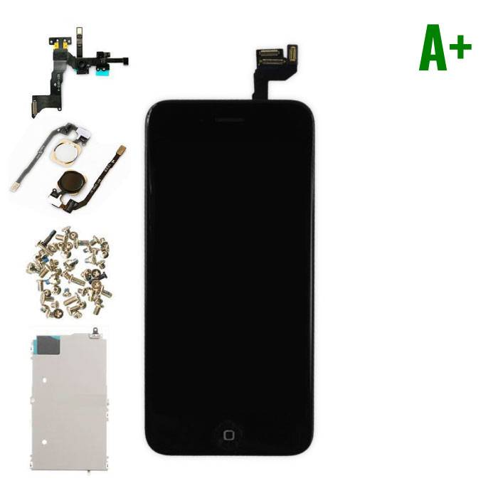 """iPhone 6S 4.7 """"Front Mounted Display (LCD + Touch Screen + Parts) A + Quality - Black"""