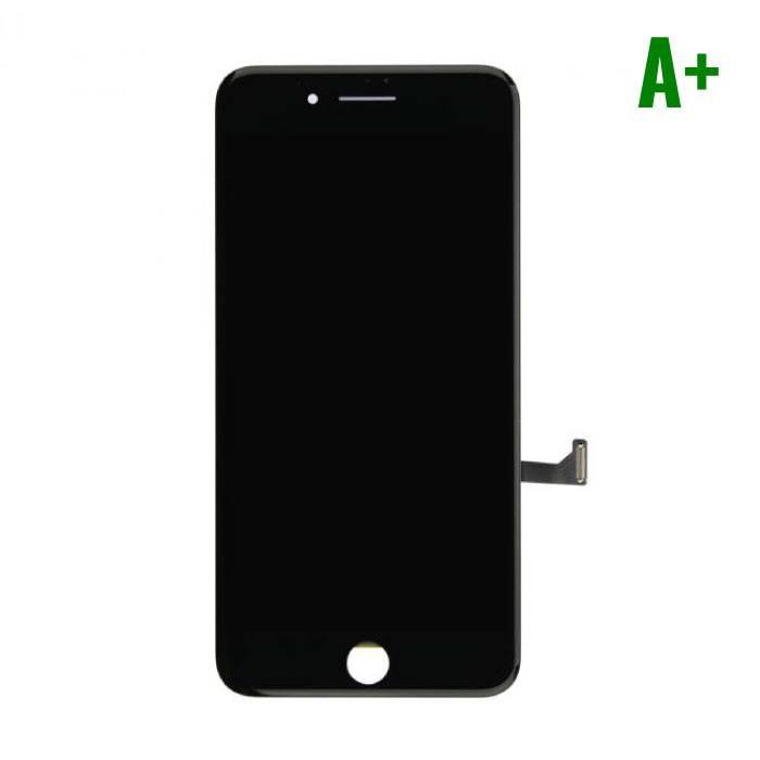 iPhone 7 Plus Scherm (Touchscreen + LCD + Onderdelen) A+ Kwaliteit - Zwart