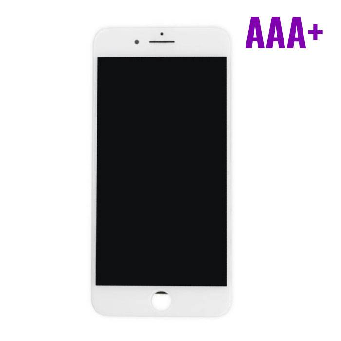 iPhone 7 Plus screen (Touchscreen + LCD + Onderdelen) AAA+ Quality - White
