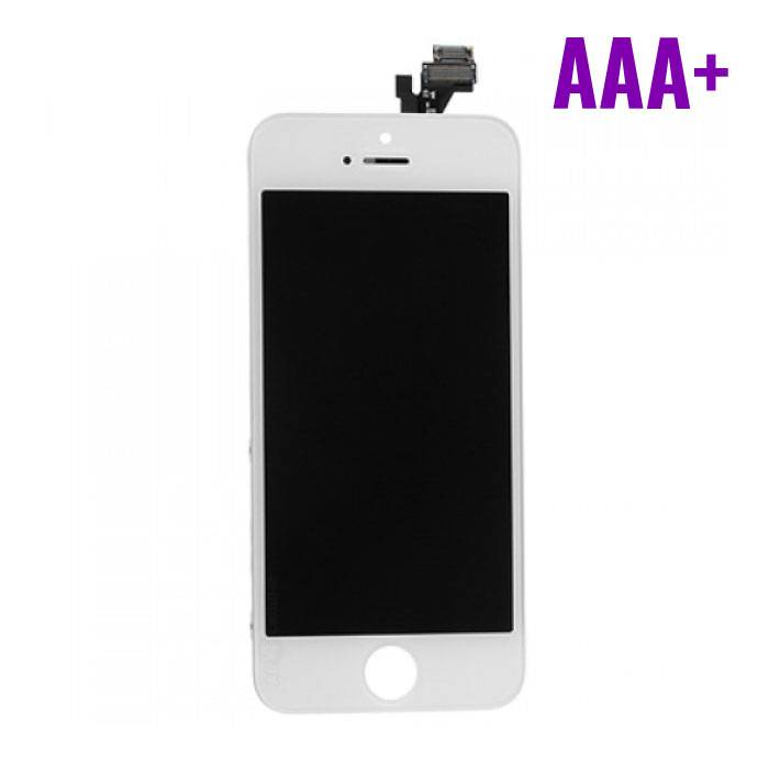 iPhone 5 Screen (Touchscreen + LCD + Onderdelen) AAA+ Quality - White