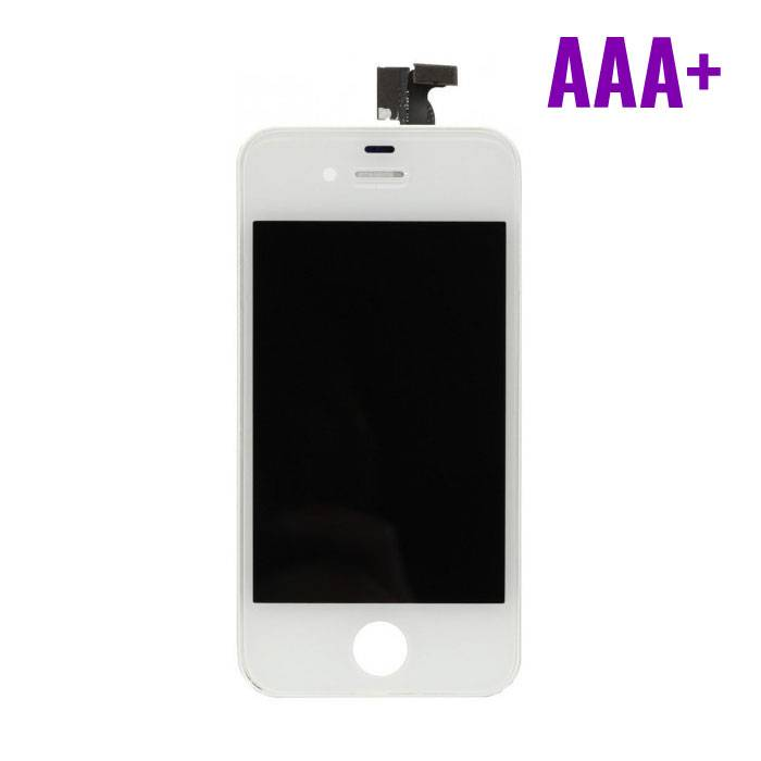 iPhone 4 Display (Touchscreen + LCD + Onderdelen) AAA+ Quality - White