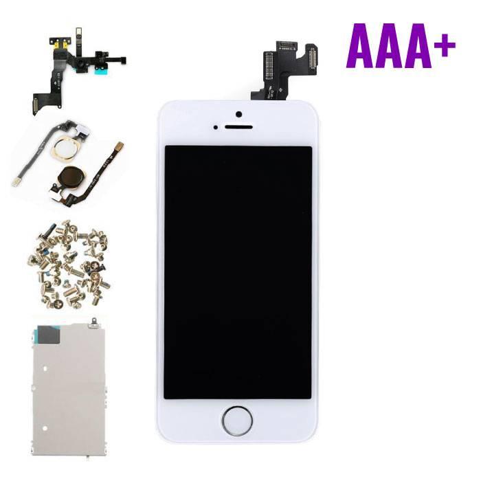 iPhone 5S Voorgemonteerd Scherm (Touchscreen + LCD) AAA+ Kwaliteit - Wit