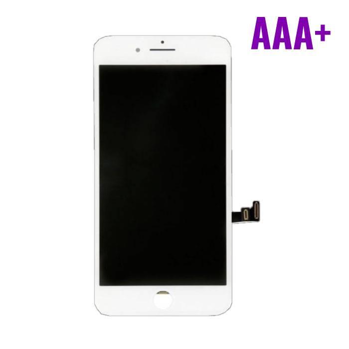 8 iPhone screen (Touchscreen + LCD + Onderdelen) AAA + Quality - White