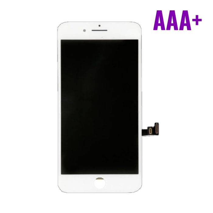 8 iPhone Plus screen (Touchscreen + LCD + Onderdelen) AAA + Quality - White