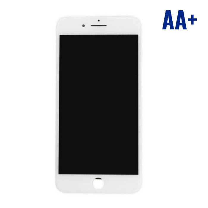iPhone 7 Plus screen (Touchscreen + LCD + Onderdelen) AA+ Quality - White