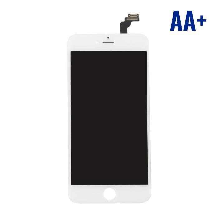 iPhone 6 Plus Scherm (Touchscreen + LCD + Onderdelen) AA+ Kwaliteit - Wit