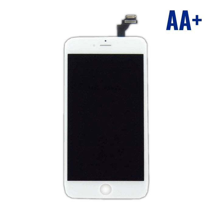 iPhone 6S Plus screen (Touchscreen + LCD + Onderdelen) AA + Quality - White