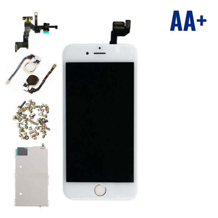 """iPhone 6S 4.7 """"Front Mounted Display (LCD Touchscreen +) AA+ Quality - White"""