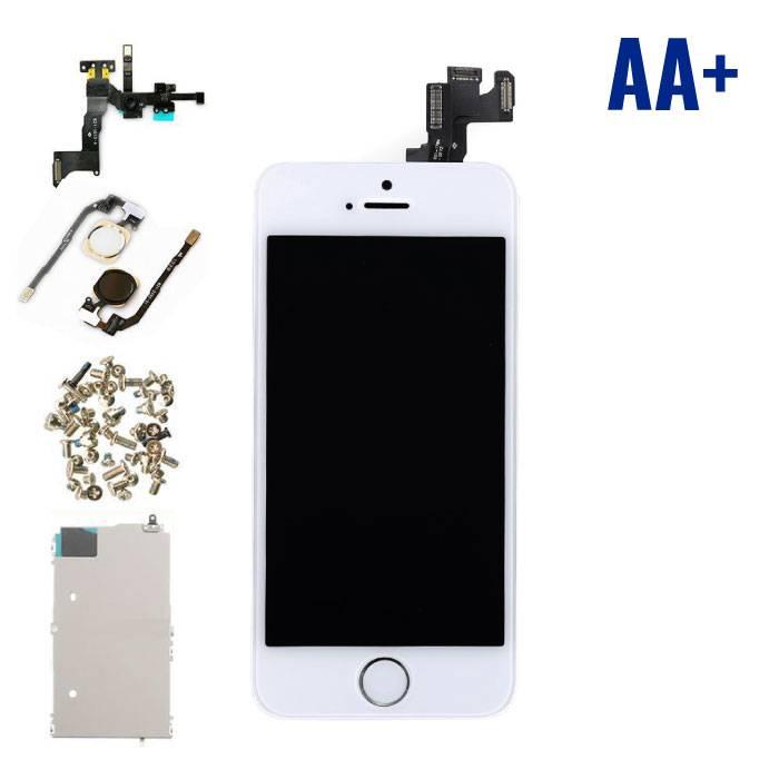 iPhone 5S Voorgemonteerd Scherm (Touchscreen + LCD) AA+ Kwaliteit - Wit