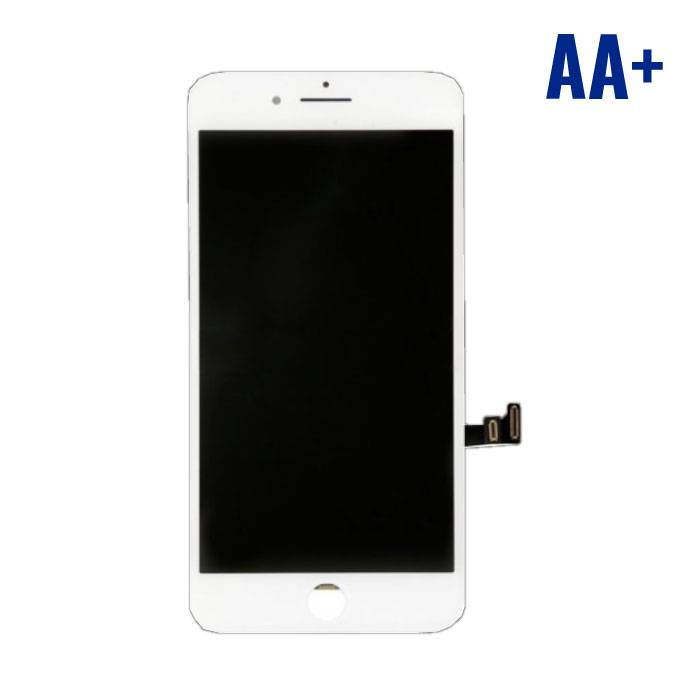 8 iPhone screen (Touchscreen + LCD + Onderdelen) AA + Quality - White