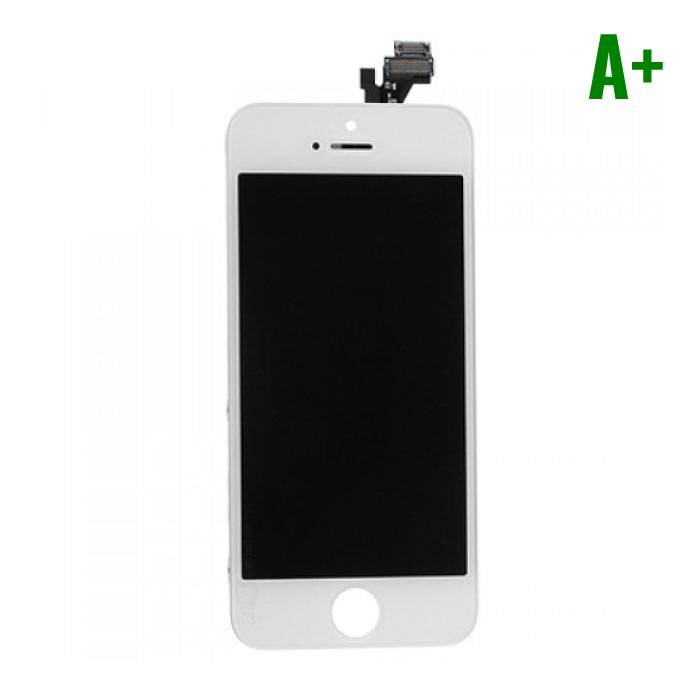 iPhone 5 Scherm (Touchscreen + LCD + Onderdelen) A+ Kwaliteit - Wit