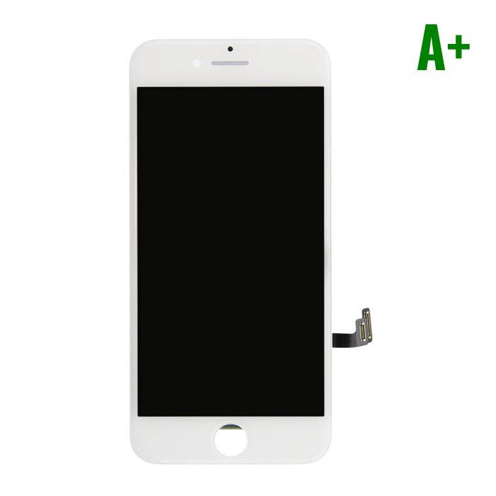 7 iPhone screen (Touchscreen + LCD + Onderdelen) A + Quality - White