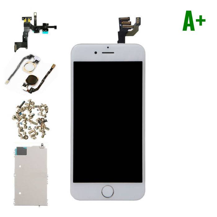 """iPhone 6 4.7 """"Front Mounted Display (LCD Touchscreen +) A+ Quality - White"""