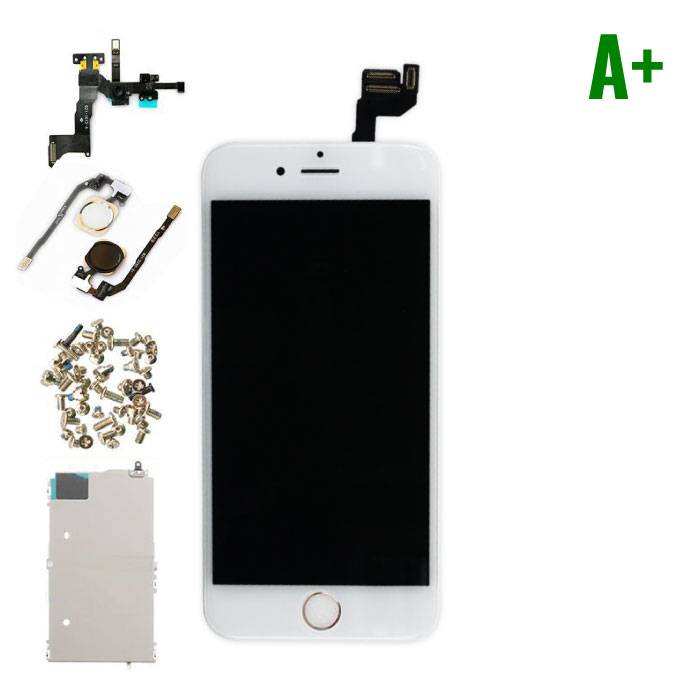 """iPhone 6S 4.7 """"Front Mounted Display (LCD + Touch Screen + Parts) A + Quality - White"""