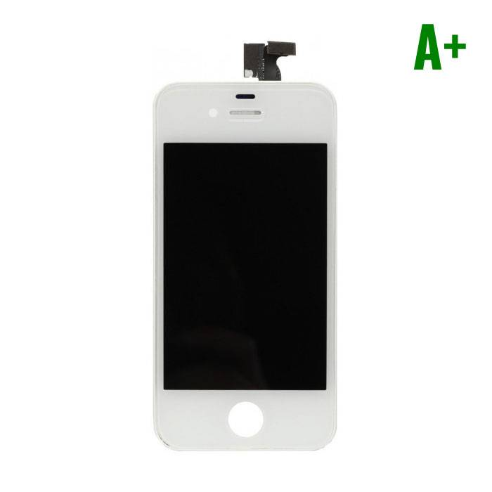 iPhone 4 Display (LCD + Touch Screen + Parts) A + Quality - White