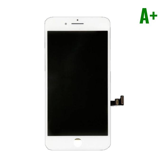 8 iPhone Plus screen (Touchscreen + LCD + Onderdelen) A + Quality - White