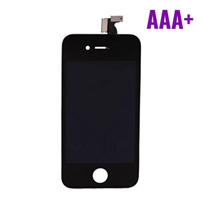 iPhone 4S Scherm (Touchscreen + LCD) AAA+ Kwaliteit - Zwart