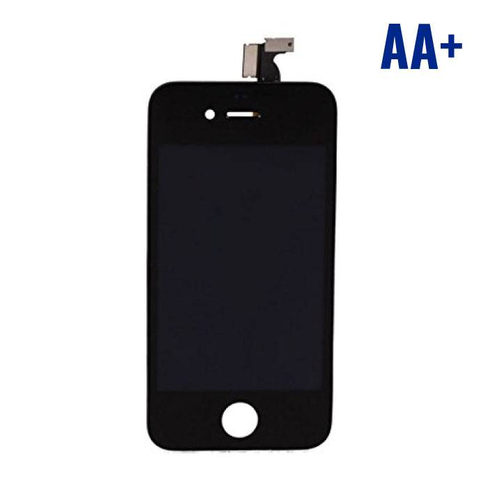 iPhone 4S Screen (Touchscreen + LCD + Onderdelen) AA + Quality - Black