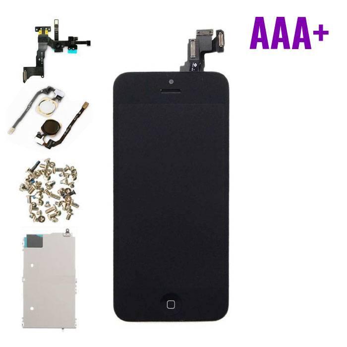 iPhone 5C Voorgemonteerd Scherm (Touchscreen + LCD) AAA+ Kwaliteit - Zwart
