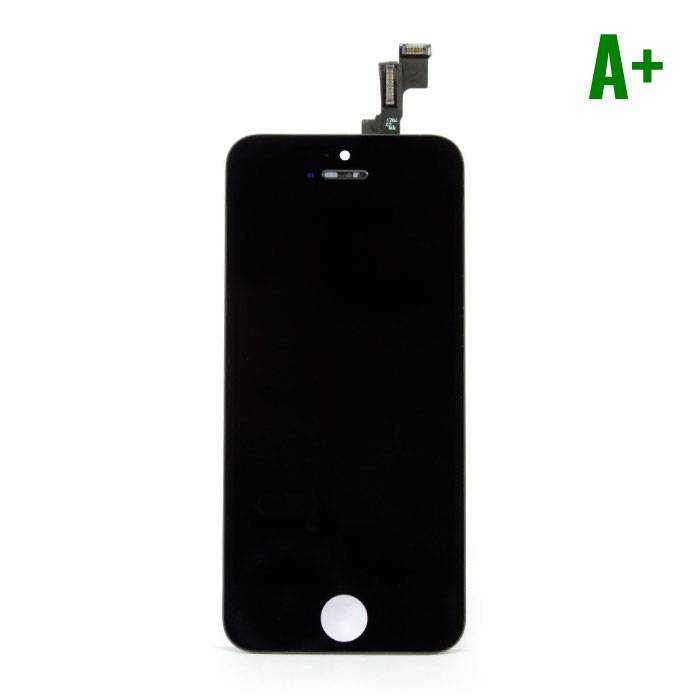 iPhone 5C screen (Touchscreen + LCD + Onderdelen) A + Quality - Black
