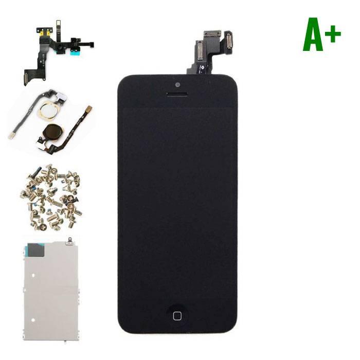 For iPhone 5C Mounted Display (LCD Touchscreen +) A + Quality - Black