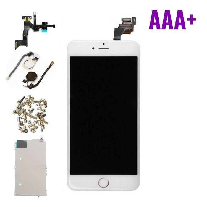 iPhone 6 Plus Voorgemonteerd Scherm (Touchscreen + LCD + Onderdelen) AAA+ Kwaliteit - Wit