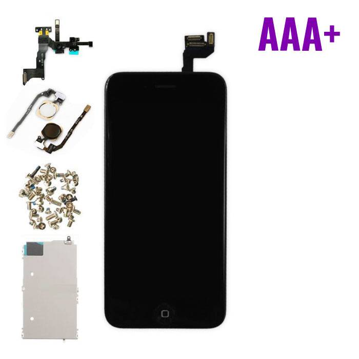 """iPhone 6S 4.7 """"Front Mounted Display (LCD + Touch Screen + Parts) AAA + Quality - Black"""