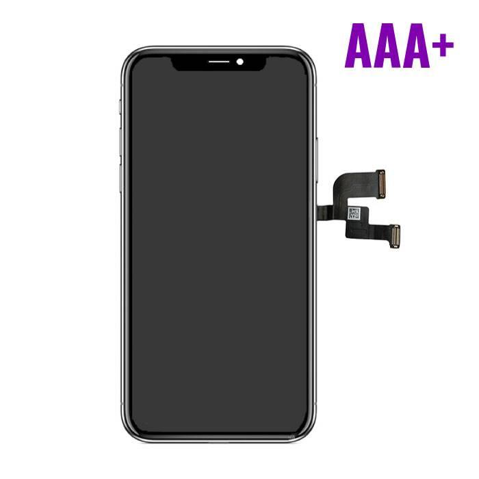 X iPhone screen (Touchscreen + LCD + Onderdelen) AAA+ Quality - Black