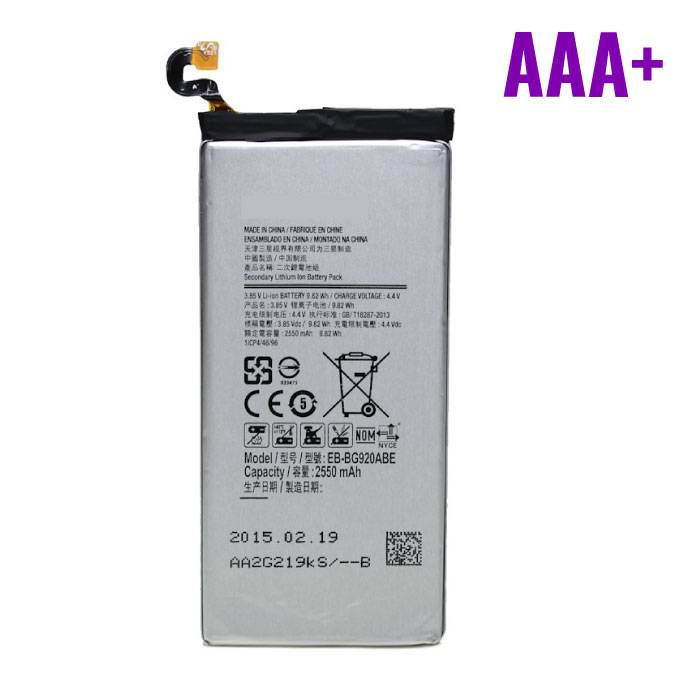 Samsung Galaxy S6 Battery / Battery AAA + Quality