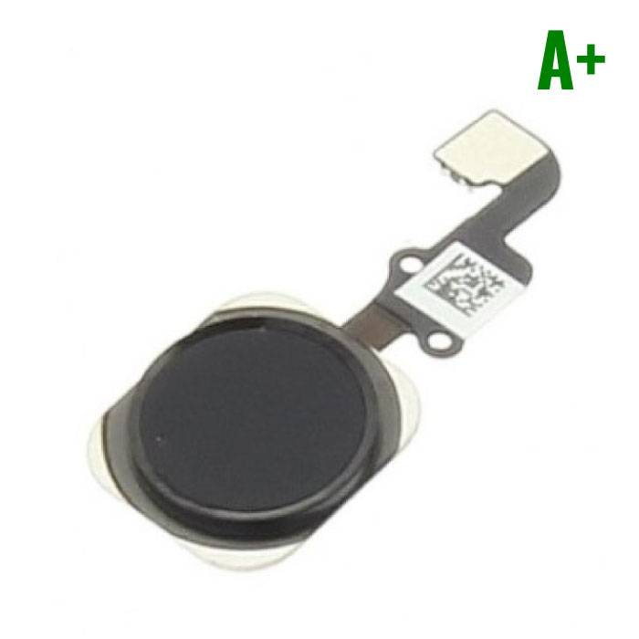 Voor Apple iPhone 6/6 Plus - A+ Home Button Assembly met Flex Cable Zwart