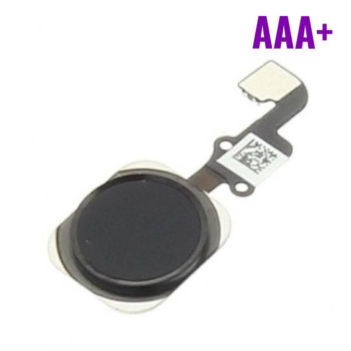 Voor Apple iPhone 6 / 6 Plus - AAA+ Home Button Assembly met Flex Cable Zwart