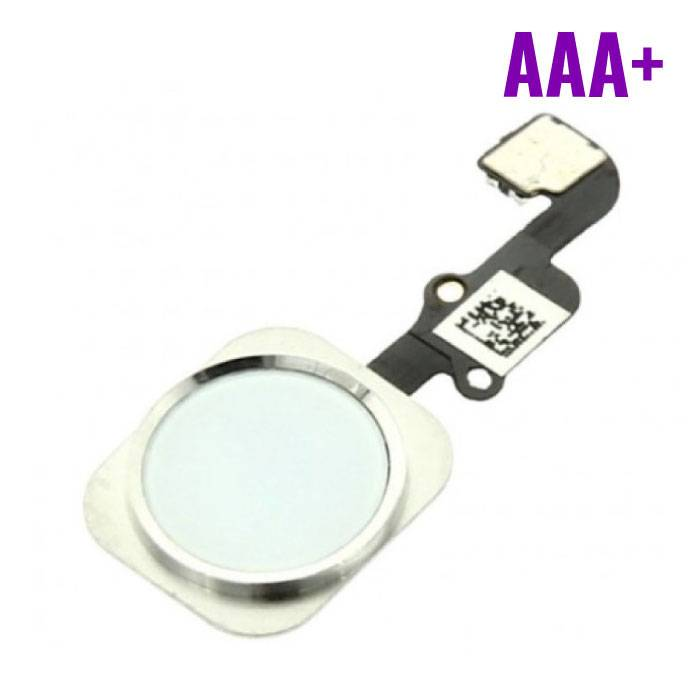 For Apple iPhone 6/6 Plus - AAA+ Home Button Flex Cable Assembly with White