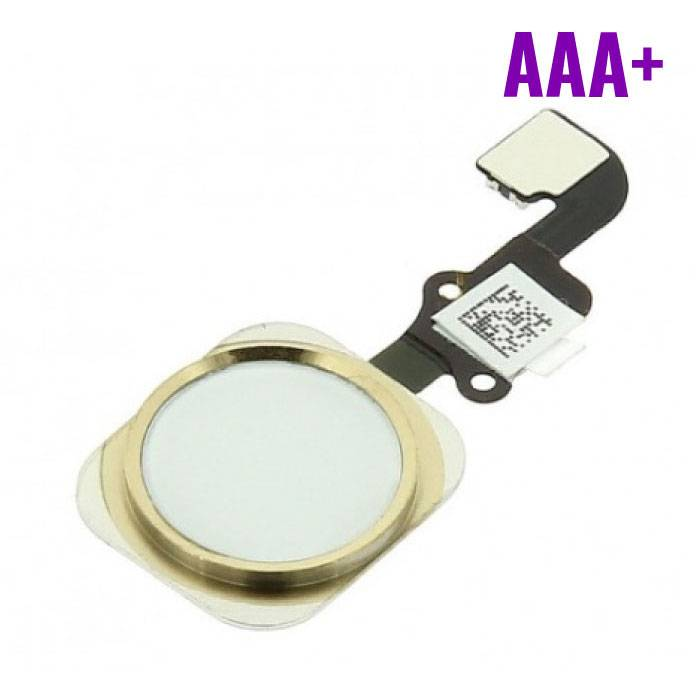 Voor Apple iPhone 6/6 Plus - AAA+ Home Button Assembly met Flex Cable Goud