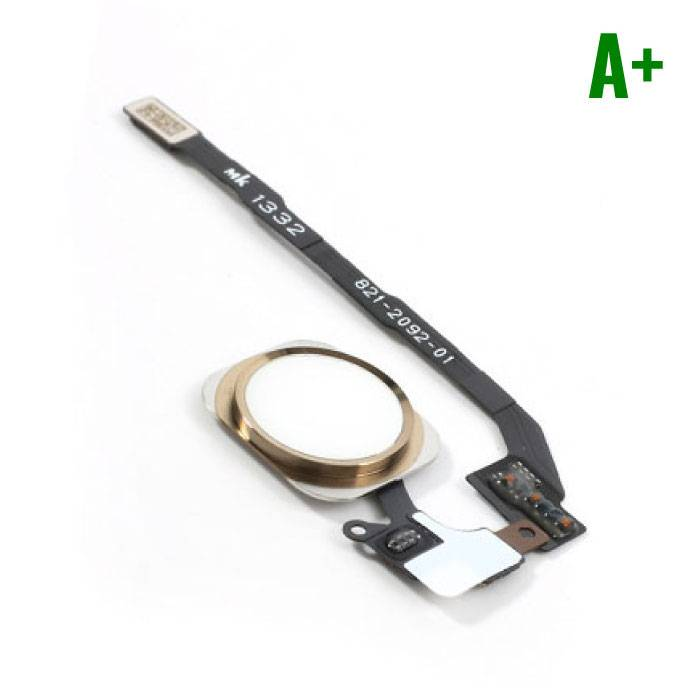 Apple iPhone 5S - A+ Home Button Flex Cable Assembly with Gold