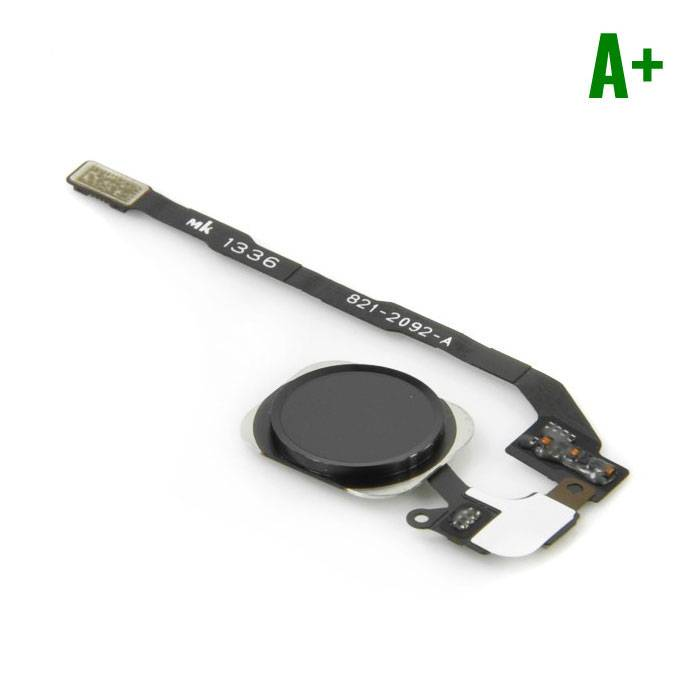 Apple iPhone 5C - A+ Home Button Flex Cable Assembly Black